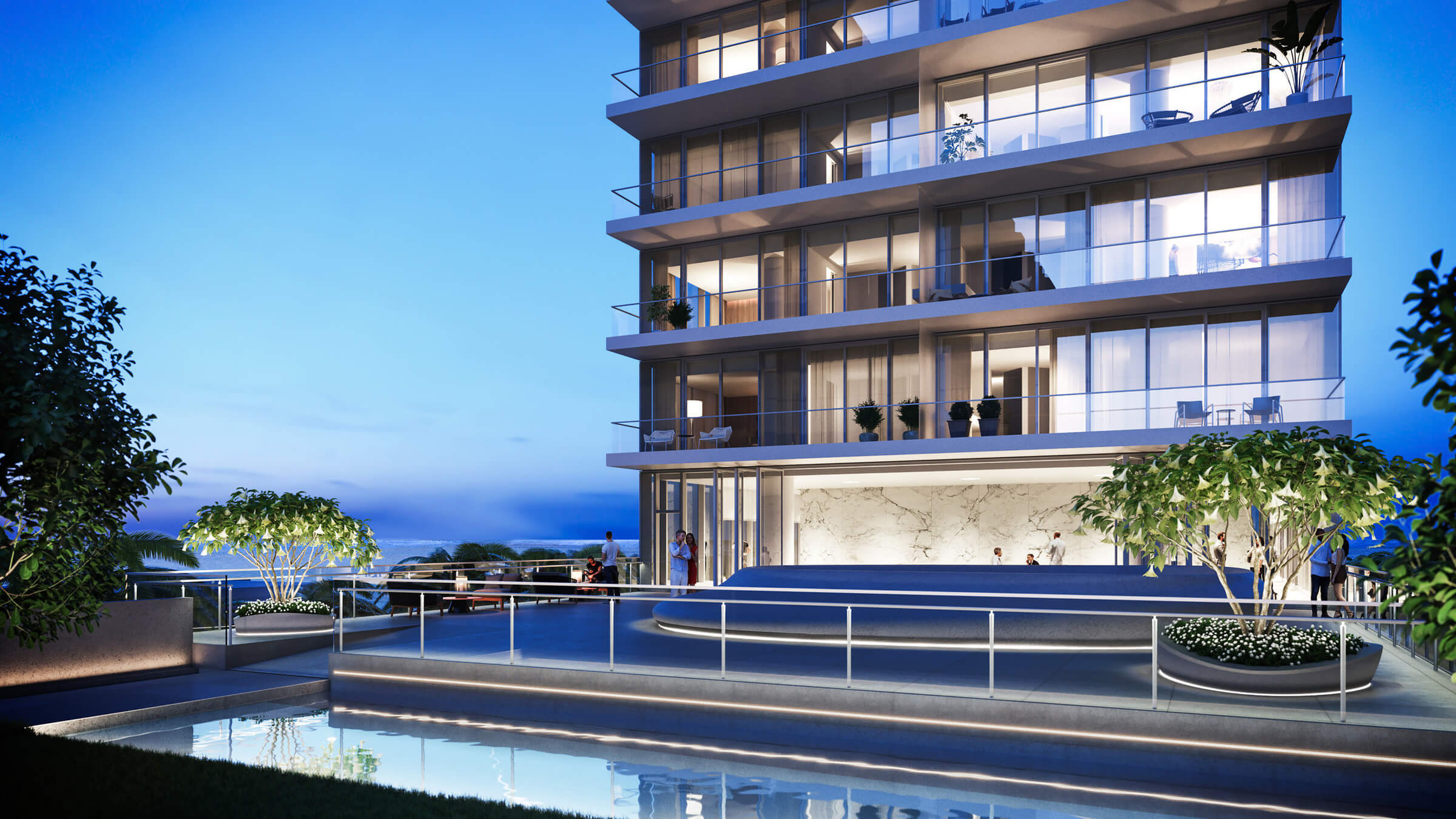 Luxury High Rise Apartments - Hallandale Beach, FL | Luxury Real Estate